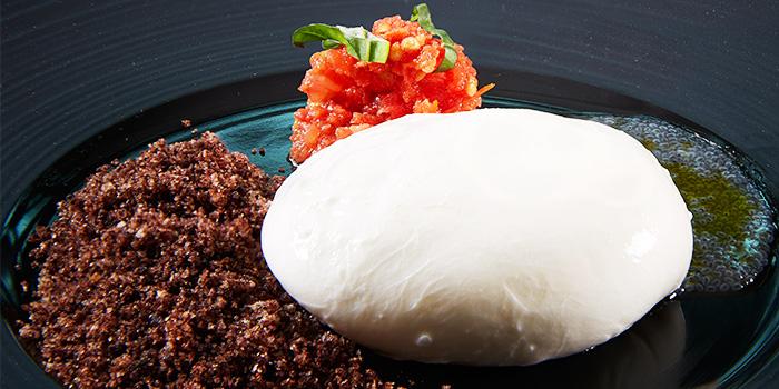 Burratina from Zafferano Italian Restaurant & Lounge in Collyer Quay, Singapore