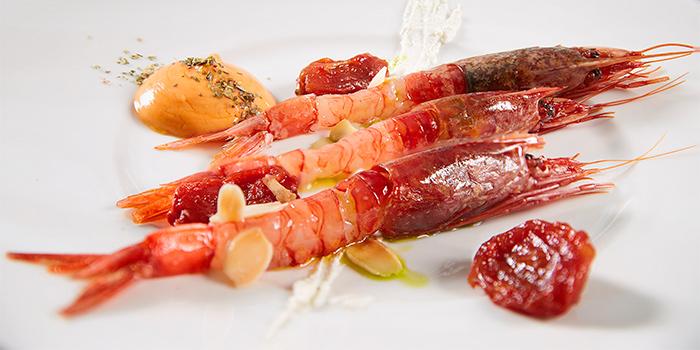 Gamberi from Zafferano Italian Restaurant & Lounge in Collyer Quay, Singapore