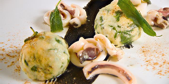Gnudo from Zafferano Italian Restaurant & Lounge in Collyer Quay, Singapore