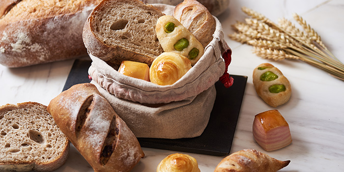 Bread Selection from béni Singapore at Mandarin Gallery in Orchard, Singapore