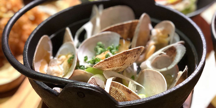 Sake Clams, Ganbei Yakitori Restaurant (Sai Ying Pun), Sai Ying Pun, Hong Kong