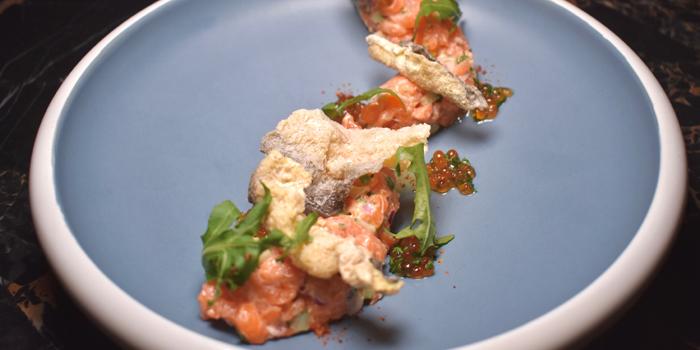 Salmon Tartare, Café Claudel, Central, Hong Kong