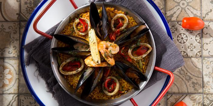 Seafood Paella, PLATO 86, Wan Chai, Hong Kong