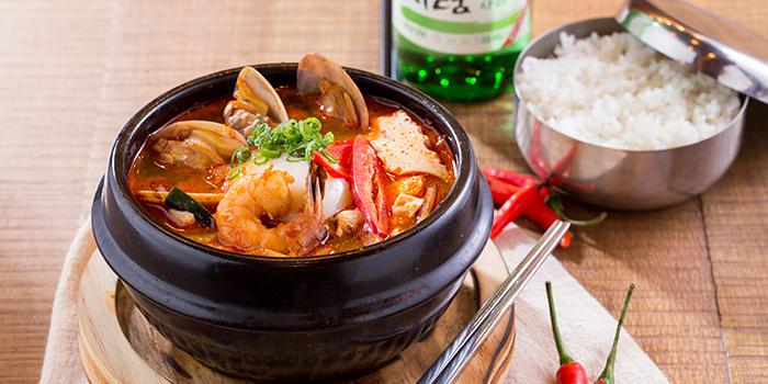 Seafood Tofu Soup, Bib n Hops (Quarry Bay), Quarry Bay, Hong Kong