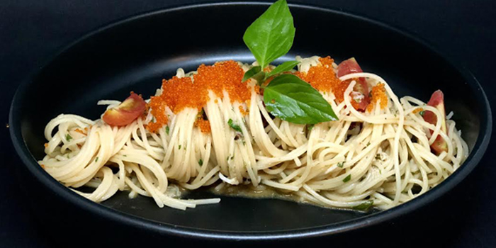Spaghetti of 23 Restaurant and Club in Caherng Talay, Phuket, Thailand.