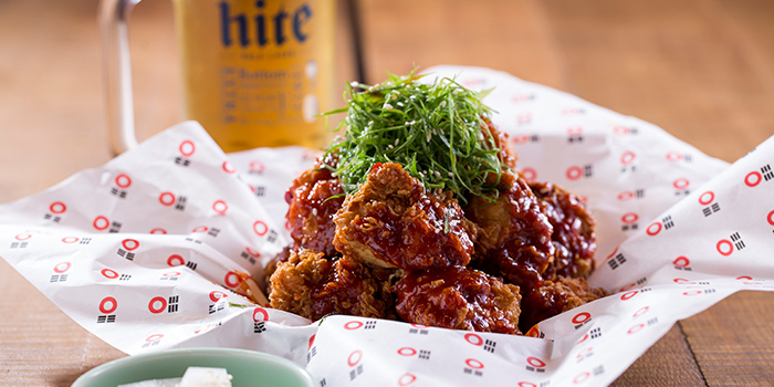 Spicy Fried Chicken, Bib n Hops (Quarry Bay), Quarry Bay, Hong Kong