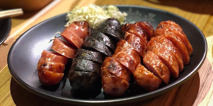 Taiwan Sausage, Ganbei Yakitori Restaurant (Tsim Sha Tsui), Tsim Sha Tsui, Hong Kong