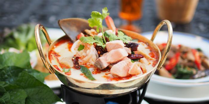 Tom Yum Talay from Yung Siam Thai Cuisine at 153 Soi Lumpoo Wat Sampraya, Pranakorn Bangkok