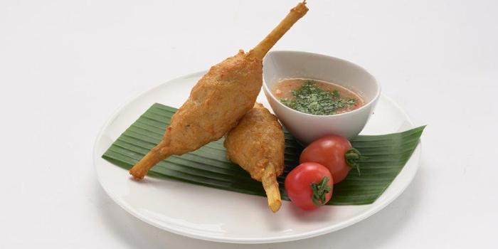 Vietnamese Deep Fried Sugar Cane with Shrimp Mousse, V.THAi, Causeway Bay, Hong Kong