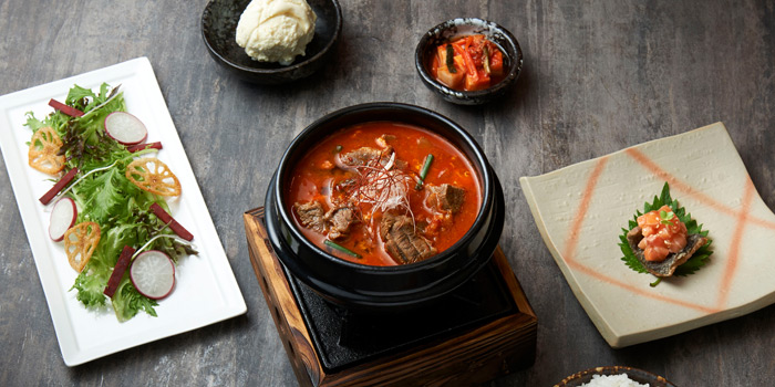 Beef karubi soup From Tetsu at Central Embassy 5th Floor, Pleonjit Road Lumpini, Pathumwan Bangkok