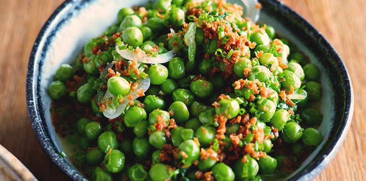 Peas from Bayswater Kitchen at Marina at Keppel Bay, Singapore