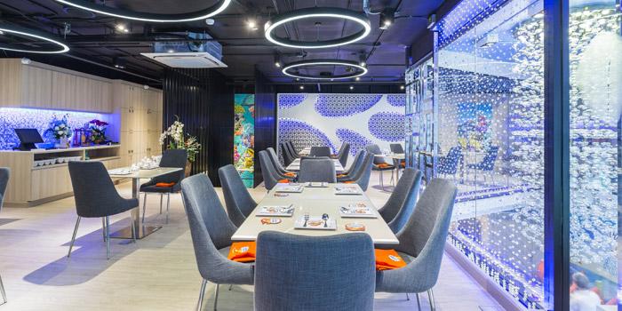 Dining Room of Louis Leeman Seafood at Sukhumvit 39 Room No. S101-102, Klongtonnua Wattana, Bangkok