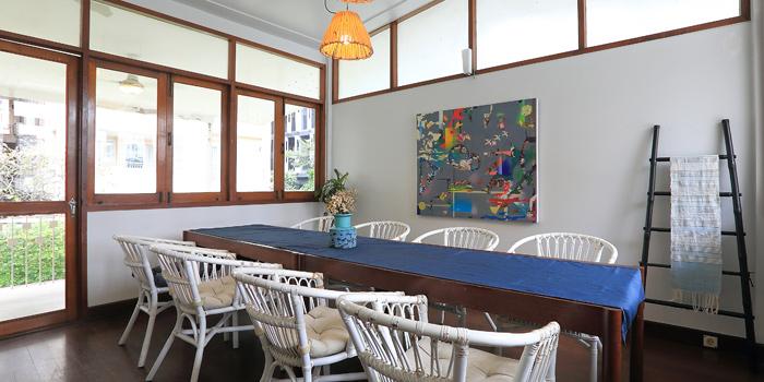 The Dining Room of Kram at 113 Sukumvit 39, Klongton Nua Wattana, Bangkok