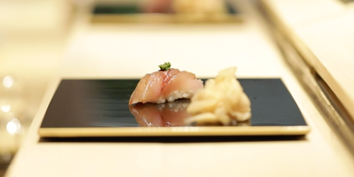 Hamachi Sushi from Sushi Cyu at CENTRAL WORLD 3rd Floor, Atrium Zone 999/9 Rama 1 Road Patumwan, Bangkok
