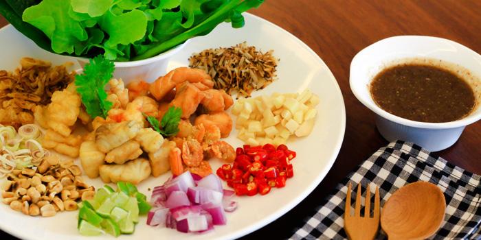 Meaing Pla from Yung Siam Thai Cuisine at 153 Soi Lumpoo Wat Sampraya, Pranakorn Bangkok