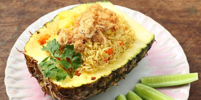 Pineapple Fried Rice from Kram at 113 Sukumvit 39, Klongton Nua Wattana, Bangkok