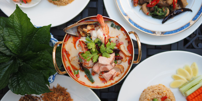 Signature Dishes from Yung Siam Thai Cuisine at 153 Soi Lumpoo Wat Sampraya, Pranakorn Bangkok