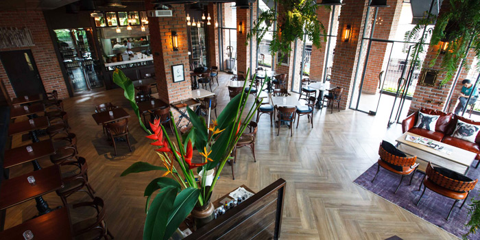 The Dining Room of The Londoner Brew Pub at 1178 Phattanakarn Road Suan Luang, Bangkok