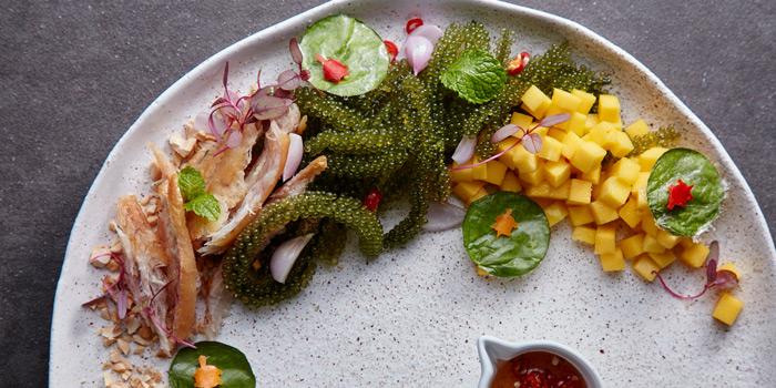 Seaweed & Fish Salad from Spirit Jim Thompson at 16 Soi Somkid, Lumphini Pathumwan, Bangkok