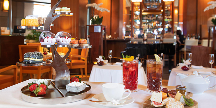 Afternoon Tea Set from Lobby Lounge in Conrad Centennial Hotel in Promenade, Singapore