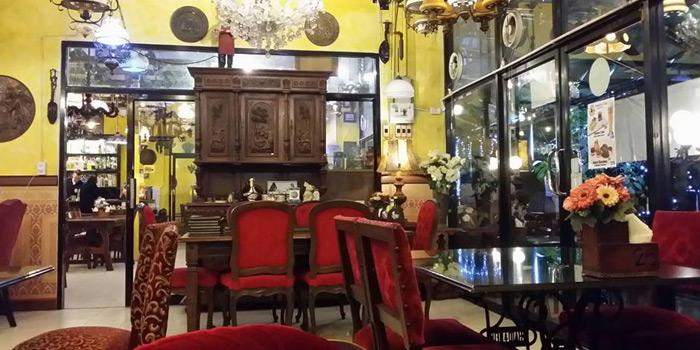 Antique Shop of The Witch Antiques & Restaurant at Muban Seri Villa Alley, Lane 2 Nong Bon, Prawet Bangkok Thailand