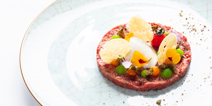 Beef Tartar from Fireplace Grill and Bar Restaurant at InterContinental, Bangkok