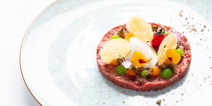 Beef Tartar from Fireplace Grill and Bar Restaurant at InterContinental, Bangkok