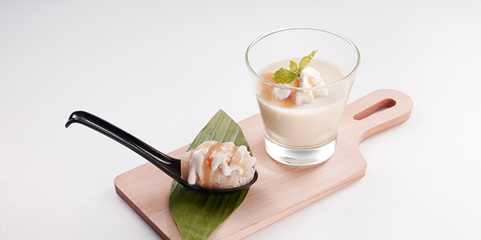 Durian Panna Cotta from Bangkok Jam (Bugis+) in Bugis, Singapore