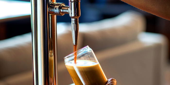 Draft Beer from Archie at 254,256 Prachatipok Rd. Wat Galaya, Thonburi Bangkok