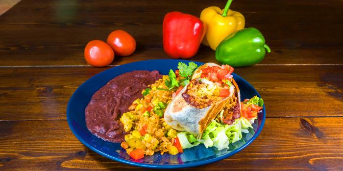 Burrito from Slanted Taco at 16 Sukhumvit Soi 23 Khlong Toei Nuea Bangkok