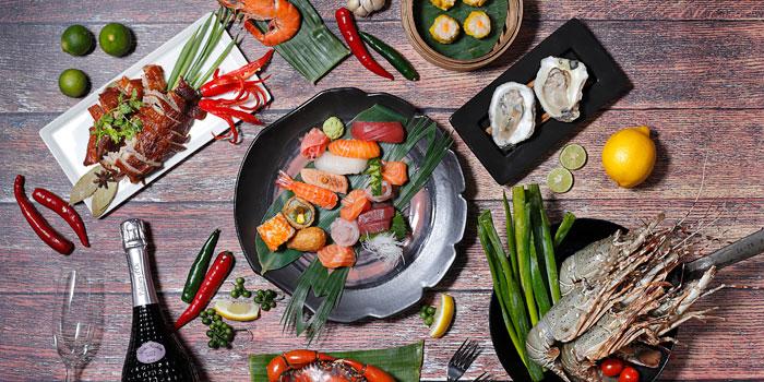 Dish 1 at Cafe Gran Via, Gran Melia Jakarta