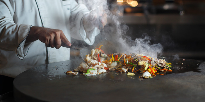 Dish 3 at Cafe Gran Via, Gran Melia Jakarta