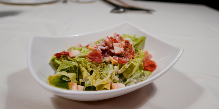 Ceasar Salad from Wholly Cow Restaurant at 34/1 Soi Ari 2, Phahonyothin Samsain nai, Phayathai Bangkok