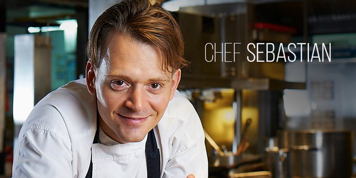 Chef Sebastian of Fireplace Grill and Bar Restaurant at InterContinental, Bangkok