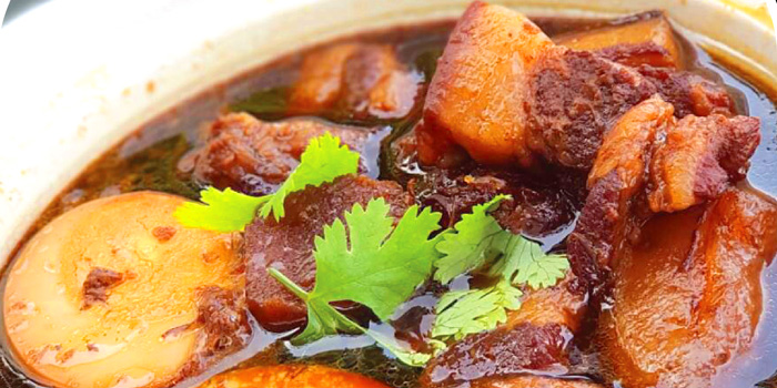 Chinese Pork Stewed from NYE Cafestaurant at 2/1 Soi Chiangmai 1 Chiangmai Road Klongsarn Bangkok