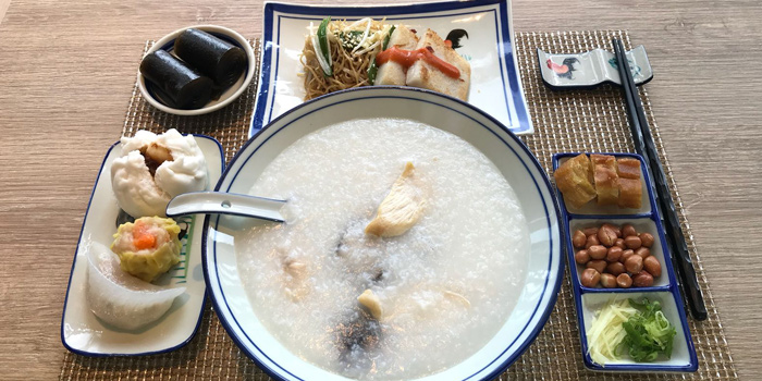 Congee, The Farmhouse, North Point, Hong Kong