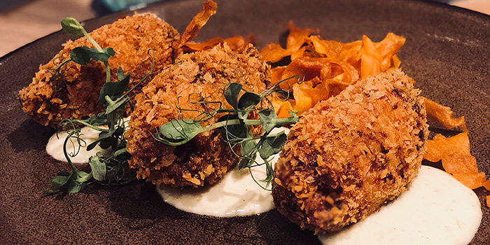 Crab Croquettes from Common Man Stan in Raffles Place, Singapore