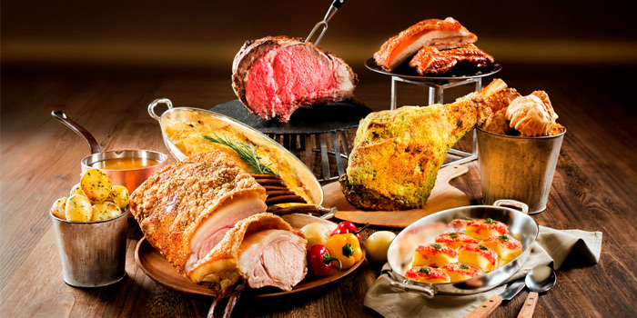 Carvery and Bubbles, Lobby Lounge (Conrad Hong Kong), Admiralty, Hong Kong