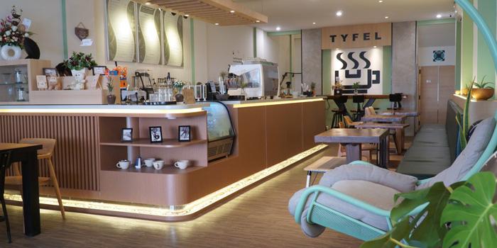 Interior 1 at Tyfel Coffee, Grogol