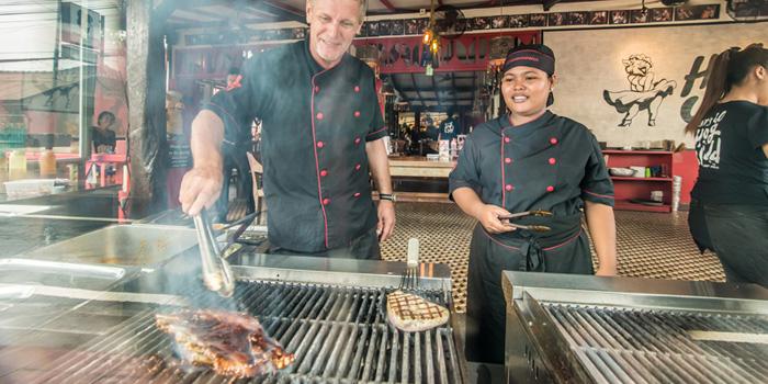 Dish 4 at Hog Wild, Bali