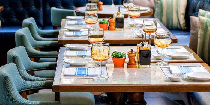 Dinning Area of Theo Mio Restaurant at InterContinental, Bangkok
