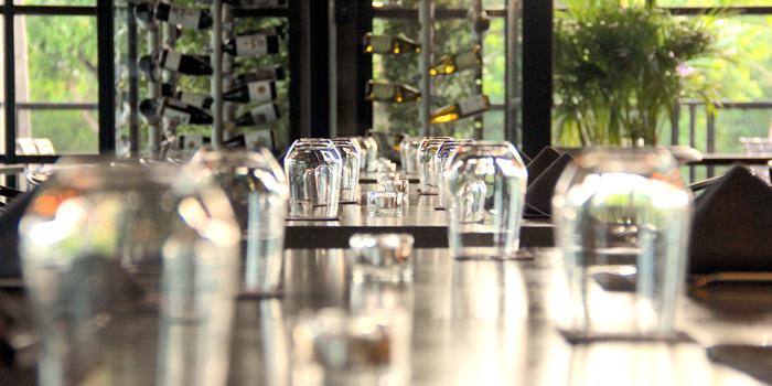 Dinning Area from Pimenton Restaurant at 35 Sukhaphiban 2 Road Prawet district Bangkok