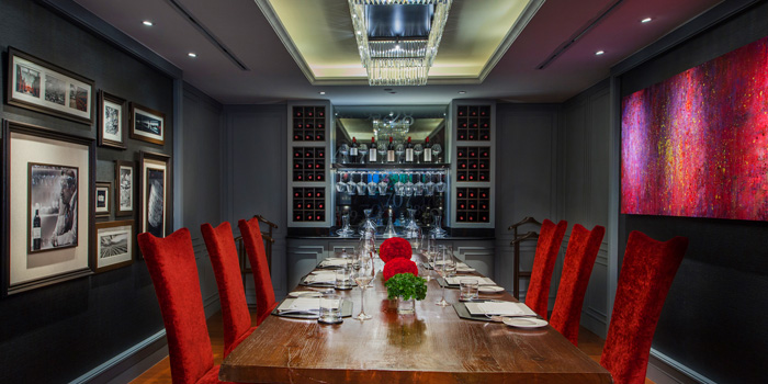 Dining Area from Fireplace Grill and Bar Restaurant at InterContinental, Bangkok