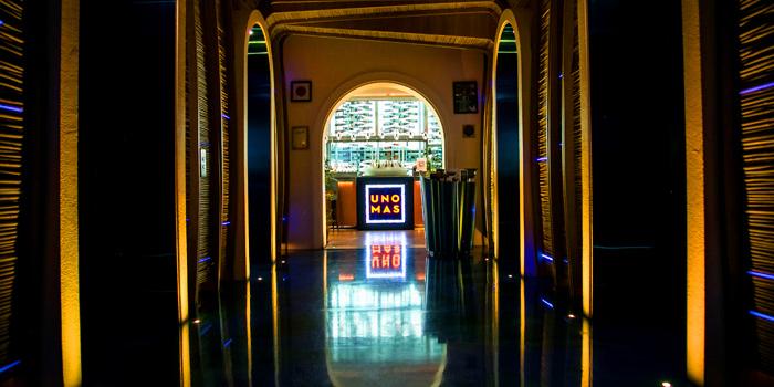 Entrance of UNO MAS at Centara Grand at Central World, Rama 1 Road, Bangkok
