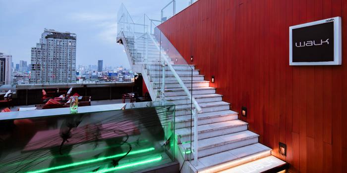 Entrance of WALK Rooftop Bar at Centara Watergate Pavillion Hotel Bangkok 567 Ratchaprarop Rd Makkasan, Ratchathewi Bangkok