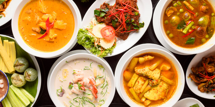 Food Selection from SN Bar&Kitchen at B1 Verng Boran Ekamai Soi 10 Sukhumvit 63 Road Bangkok