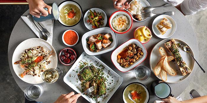 Food Spread from alittle tashi in Jalan Besar, Singapore