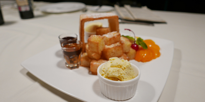Honey Toast from Wholly Cow Restaurant at 34/1 Soi Ari 2, Phahonyothin Samsain nai, Phayathai Bangkok