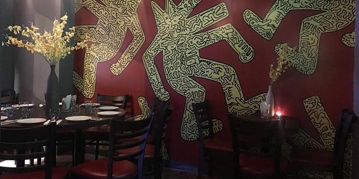 Interior, KonFusion Restaurant and Bar, Sheung Wan, Hong Kong