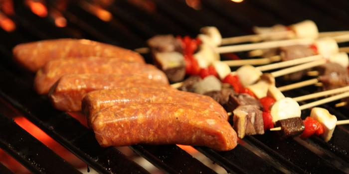 Italian Sausage from Pimenton Restaurant at 35 Sukhaphiban 2 Road Prawet district Bangkok